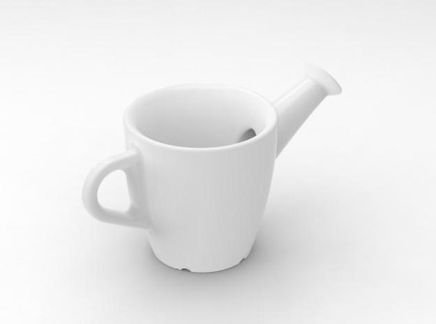 one cup a day   Day 20: Spouted Cup 3d printed view