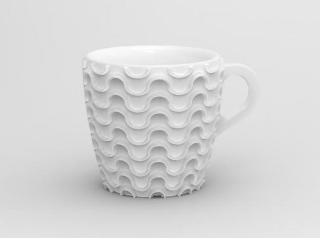 one cup a day | Day 22: Waves Cup 3d printed Waves cup