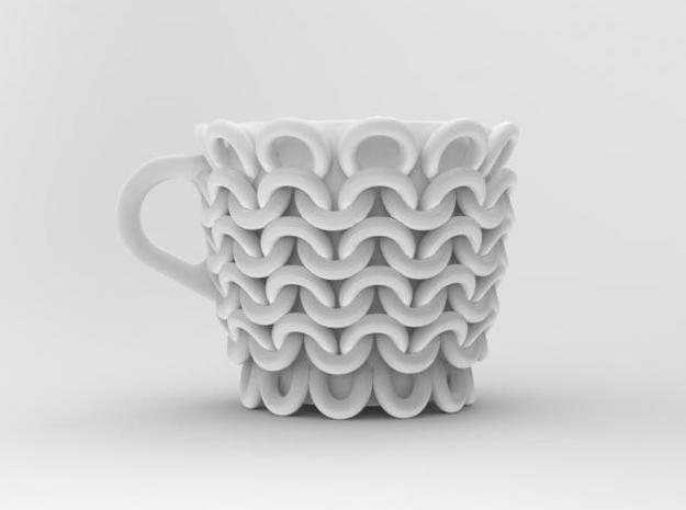 one cup a day | Day 24: Knitted Cup 3d printed front