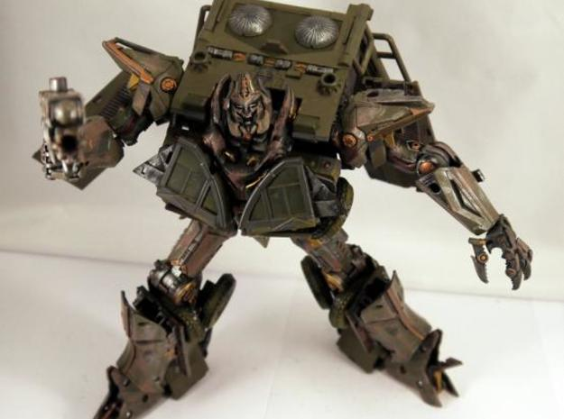 Evil hands for DOTM leader Sentinel Prime 3d printed Custom by Limewire!