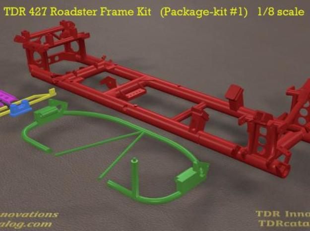 TDR 427 Roadster Frame Kit 3d printed new intro