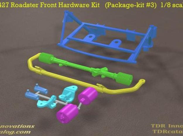 TDR 427 Roadster Front Hardware Kit 3d printed new pic