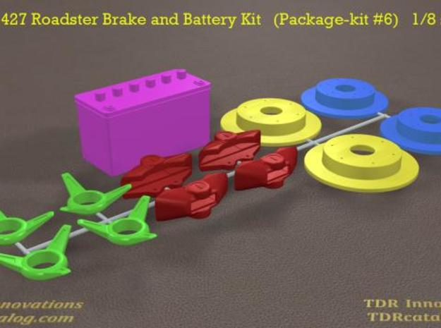 TDR 427 Roadster Brake and Battery Kit 3d printed new pic