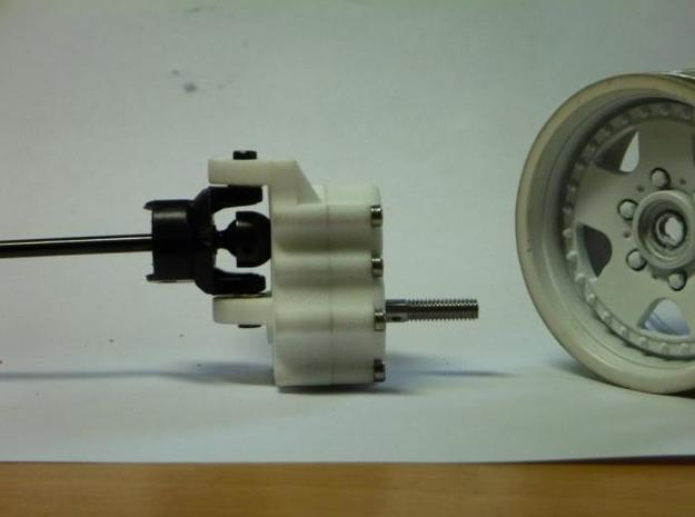 4 Portalachsen / Portal Axles v1.0 for Losi MRC 3d printed front view