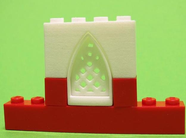 Gothic Window Set 3d printed