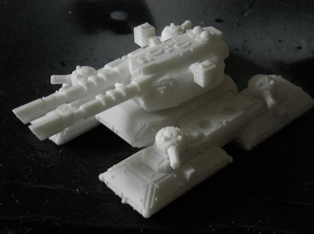 MG144-CT006 Eradicator Heavy Tank 3d printed Model in WSF