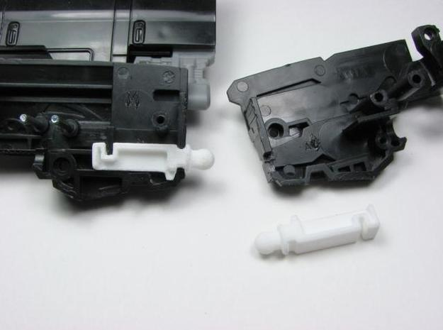 DOTM Leader Ironhide poseable hands 3d printed wrist joint design.