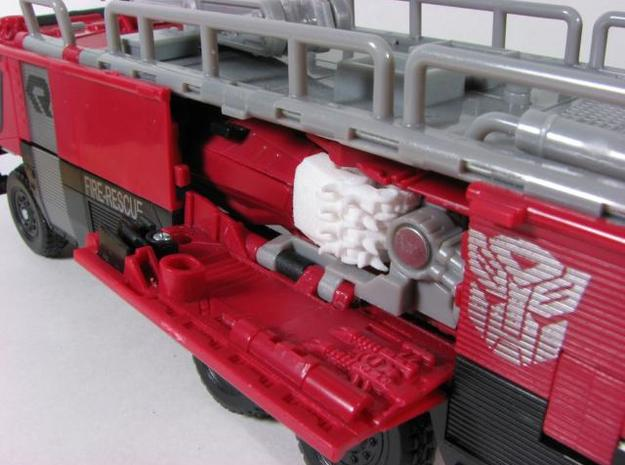 DOTM Leader Sentinel Prime hands (movie acc.) 3d printed alt mode.