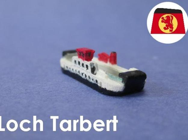 Loch Class Ferries (1:1200) 3d printed 1:1200 scale model of the Caledonian MacBrayne Ferry Loch Tarbert