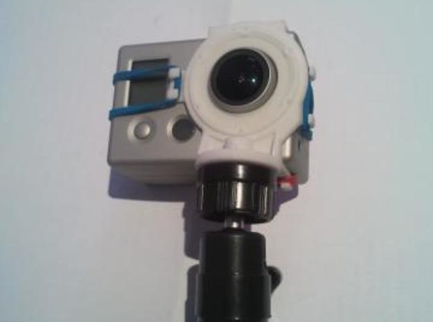 GoPro Tripod Mount 3d printed Mount Assembly