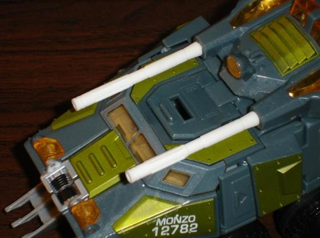 Sunlink - Stronghold Barrel Cannons - TFCon 3d printed Description
