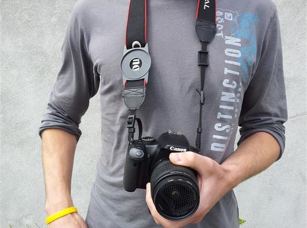 Lens Cap Holder (77mm) 3d printed Description