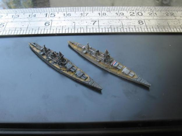 48FN11 FN.BC.Dunkerque(1940)+Strasbourg(1942) 3d printed