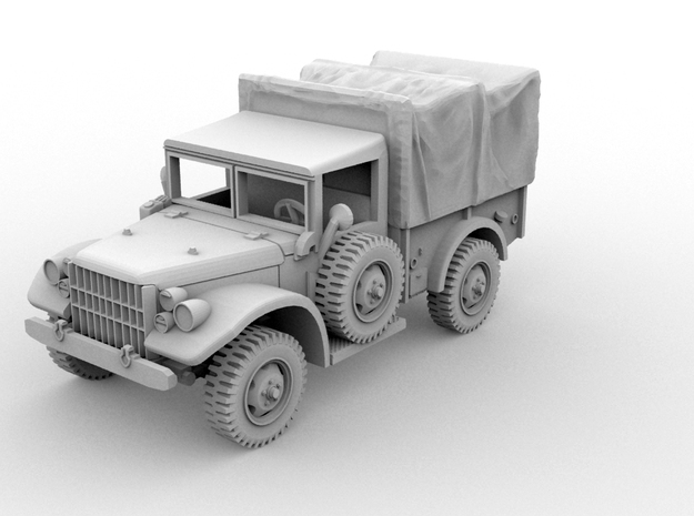 Dodge M-37B1(HO/1:87 Scale) 3d printed