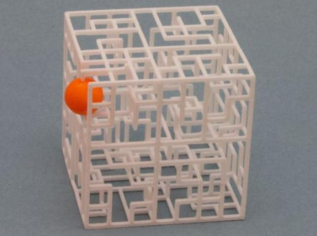 Maze Mix-pack 2 - 666,777 3d printed Ball in Exit
