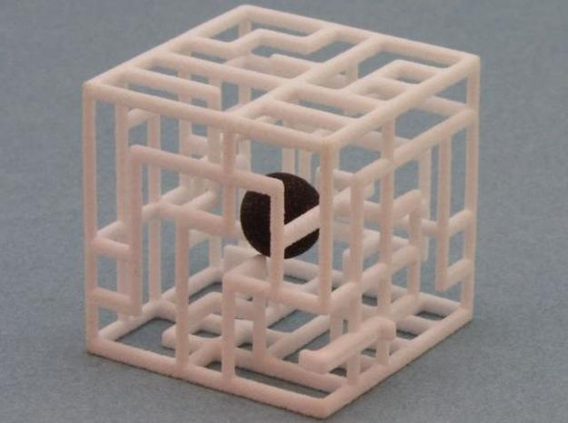 Maze Mix-pack 3 - 555,666 3d printed Ball in maze