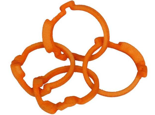 Holistic Ring 3d printed Scrambled