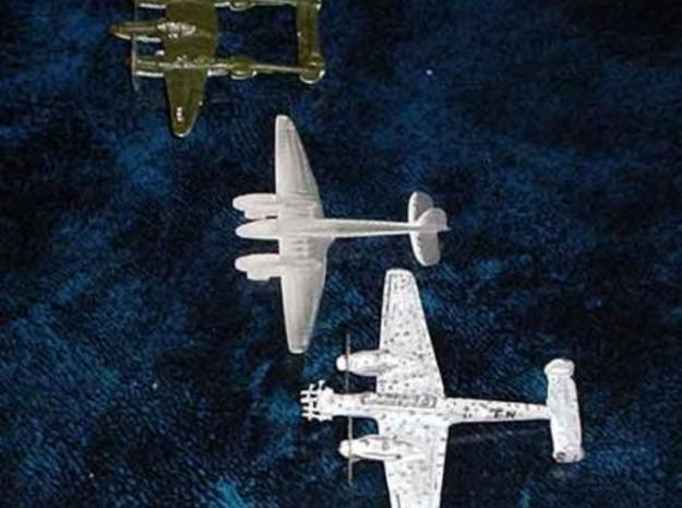 1/300 Focke-Wulf FW187 x 2 3d printed Another comparison