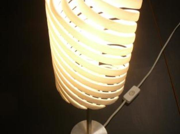 Helix lamp 3d printed