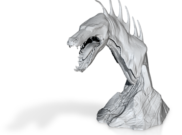 The Tuurasucha - Creature Sculpture 3d printed Shapeways Render