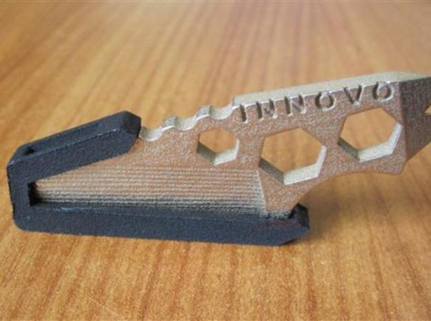 ''ShapeTool Mini'' Keychain Multitool 3d printed