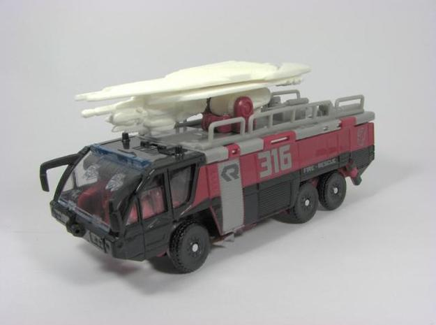 DOTM voyager Sentinel Prime weapon set 3d printed alt mode
