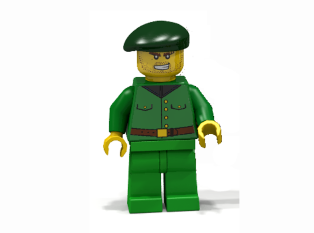 Beret 3d printed Special unit (Render of an example Usage)