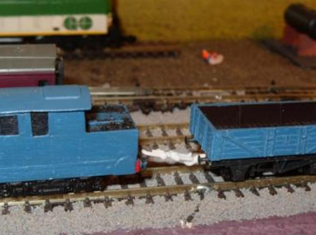 N/OO Gauge Coupling 0.32 3d printed