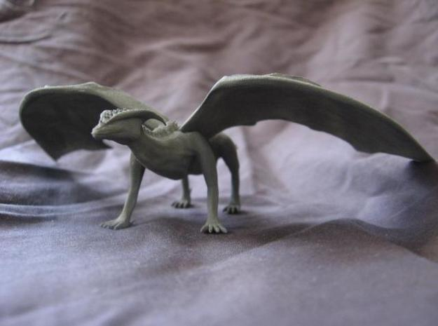 Noble Dragon 3d printed painted version