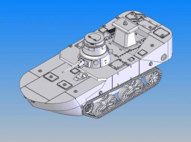 1/144 IJN Type2 Amphibious tank(early type) 3d printed