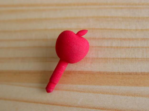 Apple Headphone Jack Accessory 3d printed Red Strong