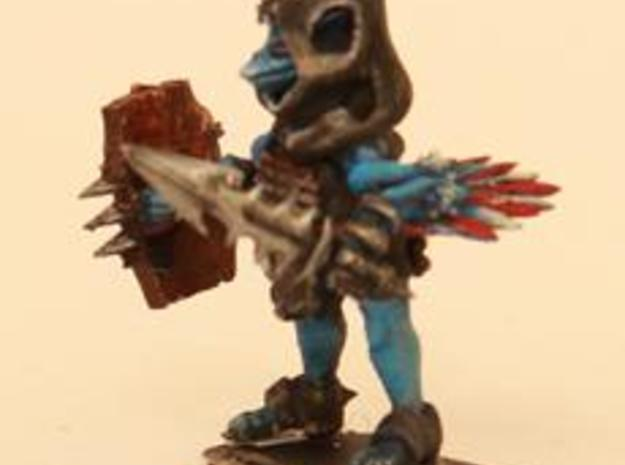 Icxifon Crow Imp A pose 1 3d printed