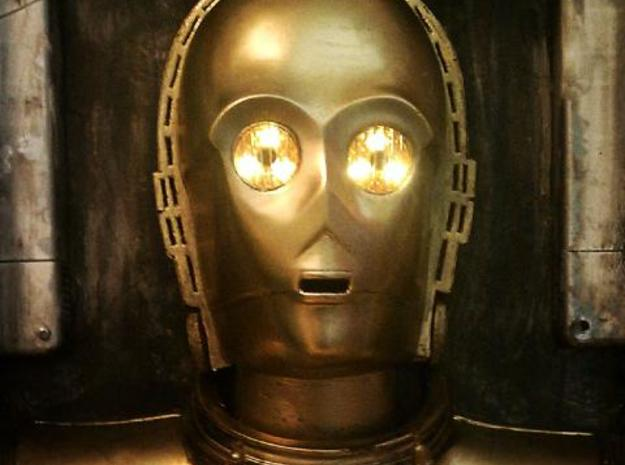 C3PO Eye ZORG 3d printed