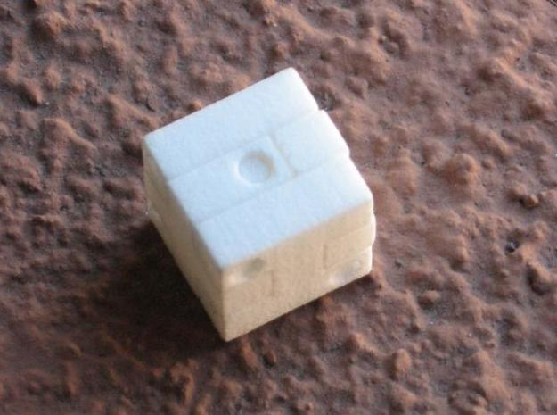 Puzzle Die 3d printed Fully assembled