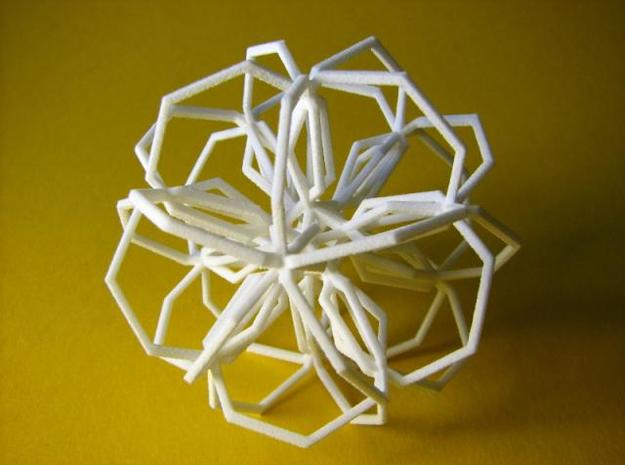 Thirty Heptagons 3d printed