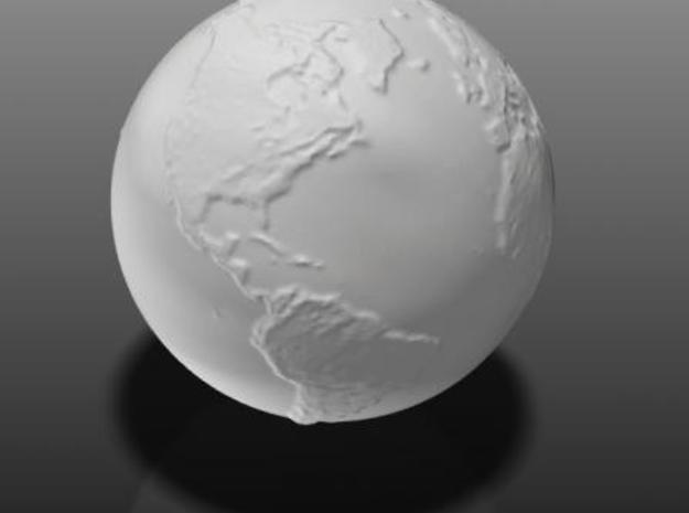 Earth hollow 3d printed