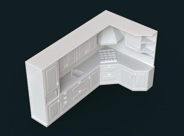 1:39 Scale Model - Kitchen Set 02 3d printed
