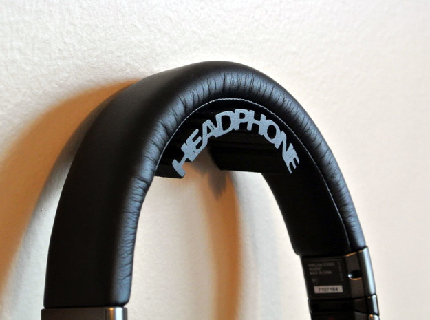 Headphone Stand 3d printed