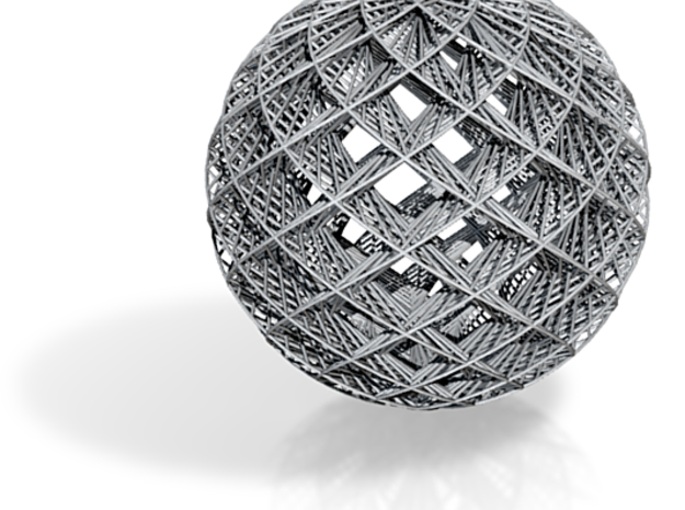 Rounded Ornament 3d printed