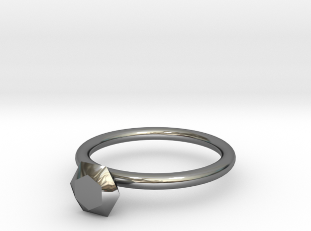 diamond ring 3d printed