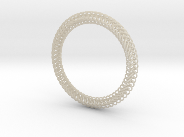 Half-Persian 4-in-1 Chainmail Bracelet 3d printed