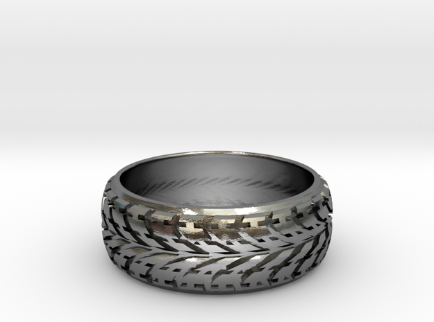 the treaden ring 3d printed