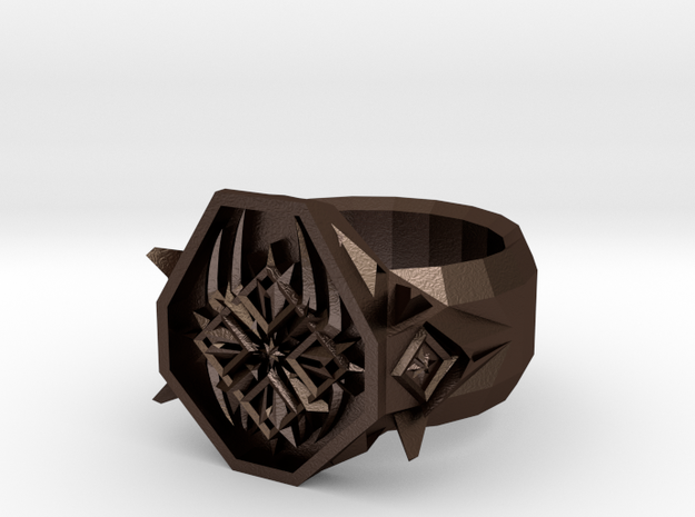 Raizer Logo Ring Version 2 - Size 10 3d printed