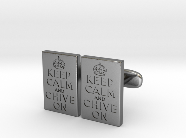 KCCO Cufflink Pairs 3d printed