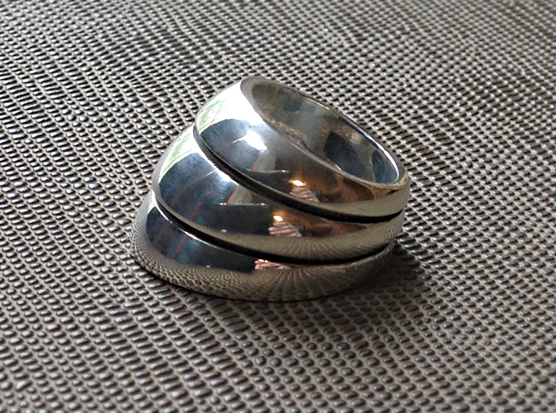 Armor Ring - Size 12 1/2 (21.79 mm)