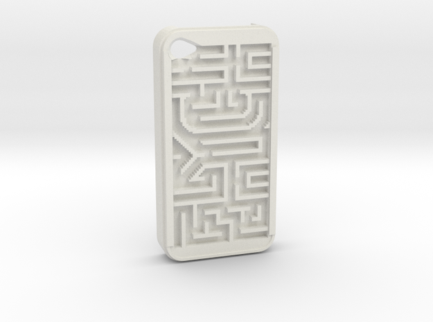 FLYHIGH: IPhone4 Maze Case 3d printed Play!