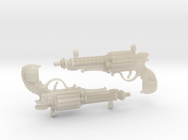 1:6 Steampistols (Set of 2) 3d printed