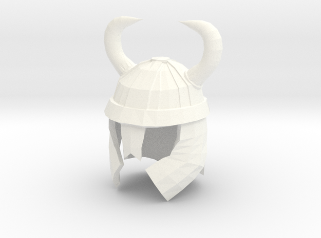 Finger Hat: Viking Helmet 3d printed