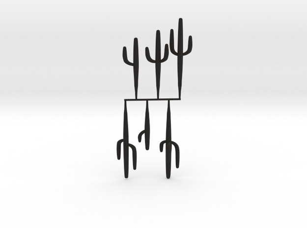 HO-Scale Saguaro Collection 01 3d printed