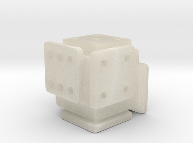 Shifted Die (Small) 3d printed